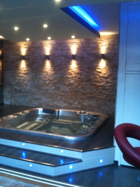 Projet spa int rieur montluel lyon - Salon amenagement interieur ...
